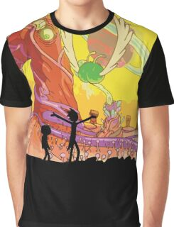 Interdimensional Rick and Morty Graphic T-Shirt