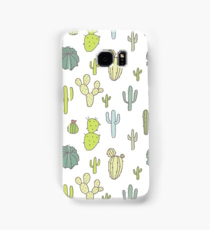 Cacti print Samsung Galaxy Case/Skin