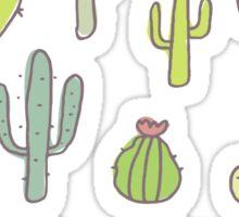 Cacti print Sticker