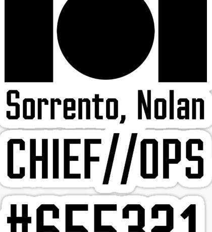 IOI Sorrento Replica Sticker