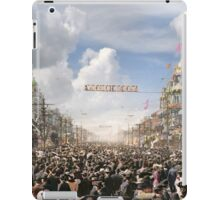 The Rex pageant, Mardi Gras Day, New Orleans, 1907 Colorized iPad Case/Skin