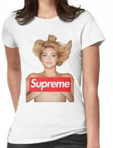 Kate Upton X Supreme Womens Fitted T-Shirt