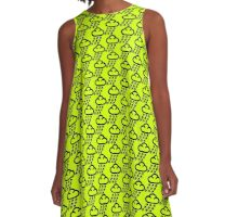 Sookie Skull Rain Design A-Line Dress