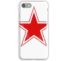 Military Roundels - USSR Red Star iPhone Case/Skin