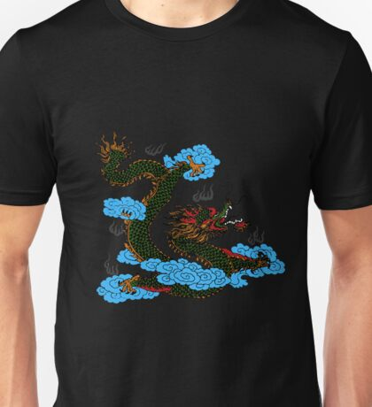 Traditional Chinese Dragon Apparel Unisex T-Shirt