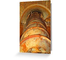 Ophir Mine Mill Greeting Card