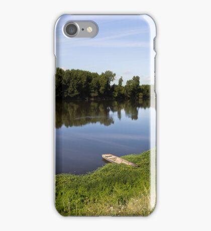 Reflets sur la Vienne iPhone Case/Skin