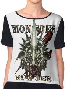 Monster Hunter  Chiffon Top