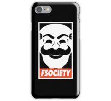 Fsociety logo iPhone Case/Skin