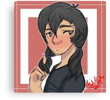 Pigtail Keith Canvas Print