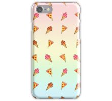 Pizza and Ice Cream iPhone Case/Skin