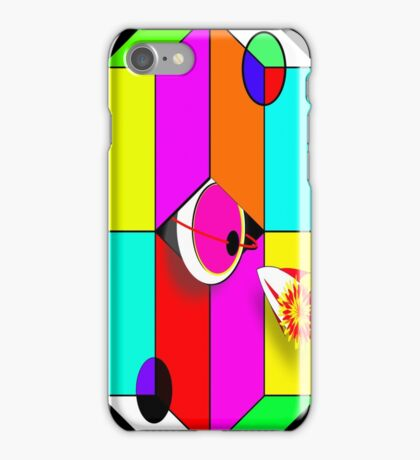 Godspeed Planet Shape-eh-zoid iPhone and Samsung Cases iPhone Case/Skin