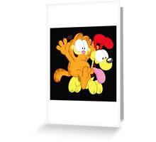 Garfield Greeting Card
