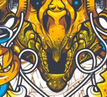 Golden Tricerapod Sticker