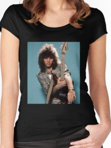 Jon Bon Jovi Once Upon A Time Women's Fitted Scoop T-Shirt
