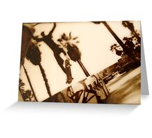 Venice launch Greeting Card
