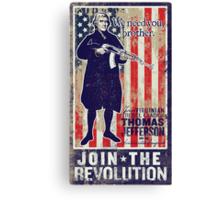 Jefferson Revolution Propaganda Canvas Print