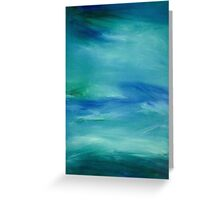 Oceans Blue Greeting Card