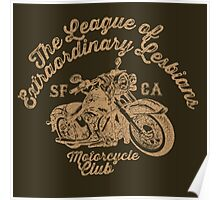 LXL - Motorcycle Club Poster