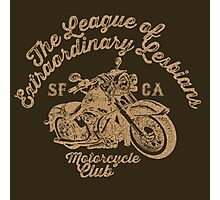 LXL - Motorcycle Club Photographic Print