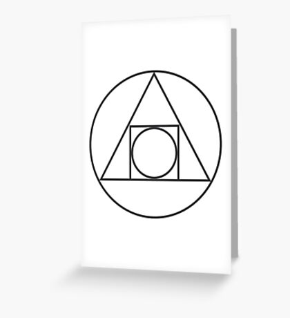Philosopher's Stone Greeting Card