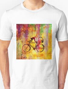 Cat and Bicycle T-Shirt