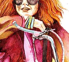 Janis Joplin by CRISISVALERO
