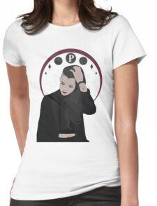 Lynn Gunn Art Nouveau Portrait Womens Fitted T-Shirt