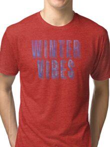WINTER VIBES Tri-blend T-Shirt