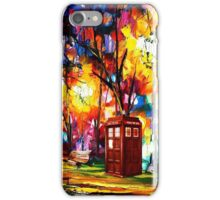 Tardis Dr Who iPhone Case/Skin