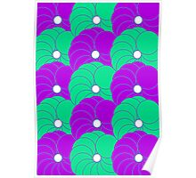 Cushion Circles Design Three Poster