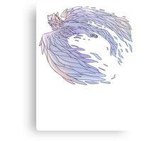 Pastel Wings Metal Print