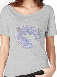 Pastel Wings Women's Relaxed Fit T-Shirt