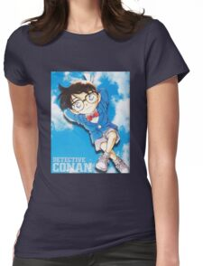Detective Conan Cartoon CR2 Womens Fitted T-Shirt