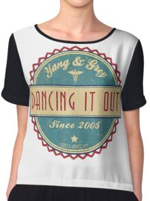 Grey's Anatomy - Dancing it out Chiffon Top