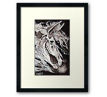 Lich Horse Framed Print