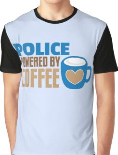 POLICE powered by Coffee Graphic T-Shirt