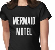 MERMAID MOTEL 2 Womens Fitted T-Shirt