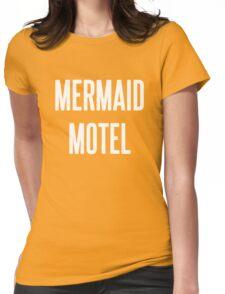 MERMAID MOTEL 2 Womens Fitted T-Shirt