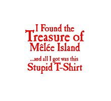 The treasure of monkey island Photographic Print