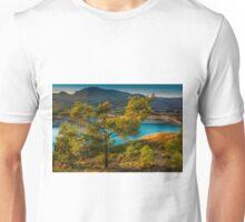 Tree, lake and mountain  Unisex T-Shirt