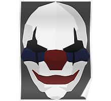Chains -  Payday Retro Mask Poster