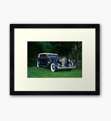 Classic Packard Phaeton Framed Print