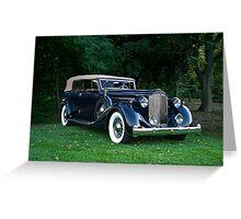 Classic Packard Phaeton Greeting Card