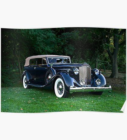 Classic Packard Phaeton Poster