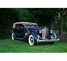 Classic Packard Phaeton Photographic Print