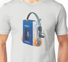 Sony Walkman TPS-L2 with MDR-5A Headphone Polygon Art Unisex T-Shirt