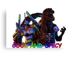 cool and spicy Canvas Print