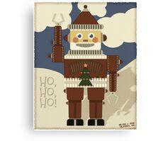 Robot Santa - Ho, Ho, Ho! Canvas Print