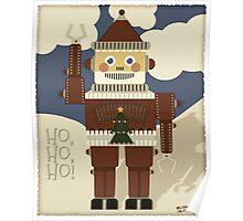 Robot Santa - Ho, Ho, Ho! Poster